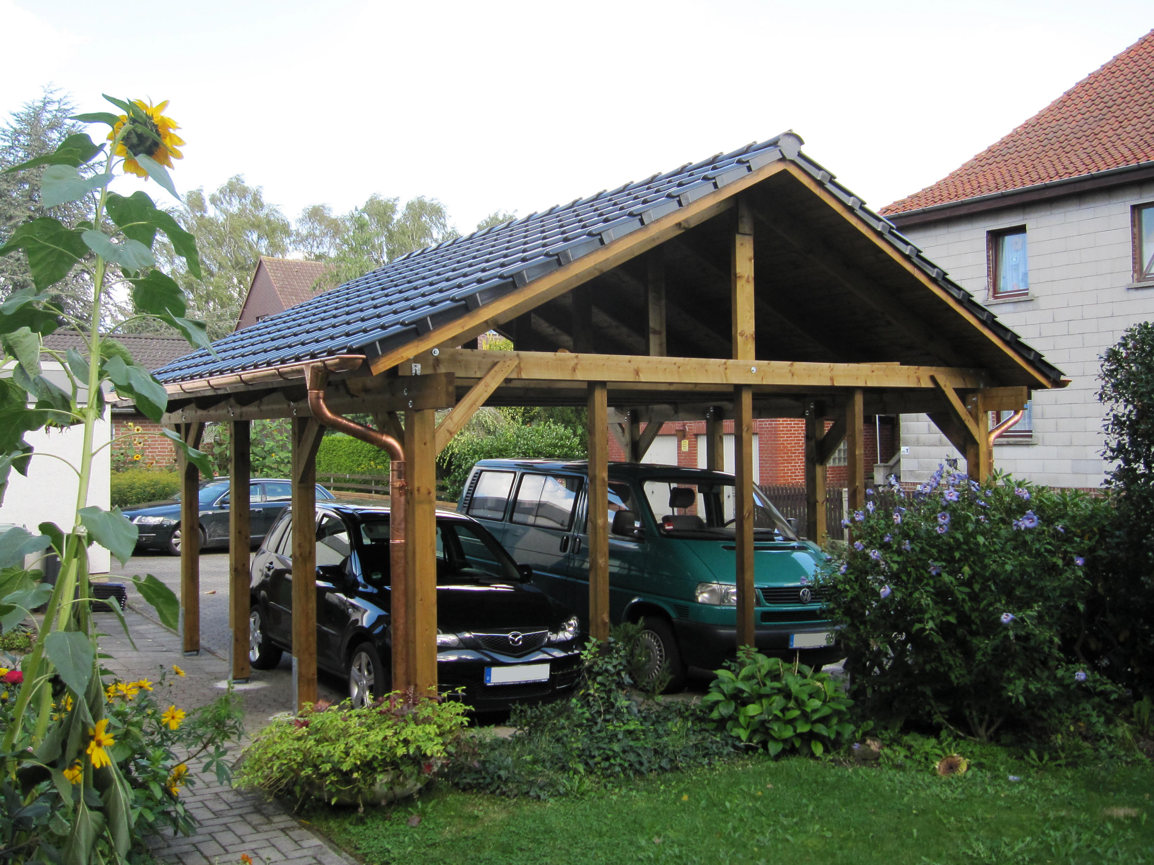 l ffler carports l ffler zaunbau. Black Bedroom Furniture Sets. Home Design Ideas
